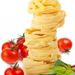 Tagliatelle. — Stock Photo