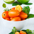 Stock Photo: Kumquats.