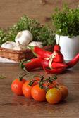 Tomates cherry. — Foto de Stock