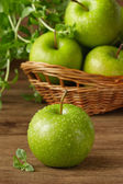 Green apples. — Stock Photo