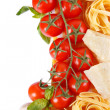 Vegetables and pasta. — Stock Photo