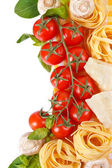 Vegetables and pasta. — Stockfoto