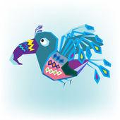 Bird flying — Stock vektor