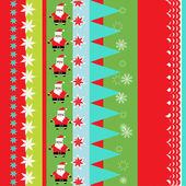 Christmas wrapping paper pattern — Stock Vector