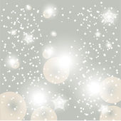 Christmas glowing snow background — Stock Vector