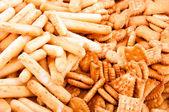 Crackling cookies — Stock Photo