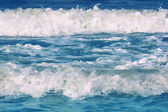 Blue sea waves — Stock Photo