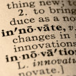 The word innovate - Foto de Stock