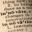 Word innovate — Stock Photo #6537407