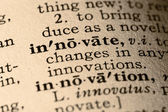 The word innovate — Stock Photo