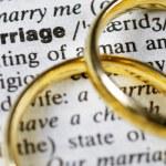 Marriage — Stock Photo
