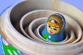 Matrioska Russian Doll — Stock Photo