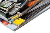 Pile of Magazines — Stock Photo