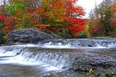 Autumn waterfalls — Stock Photo