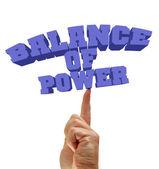 Balance of power — Stock Photo