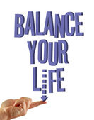 Balance your life — Stock Photo