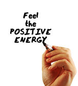 Feel the positive energy — Stock Photo