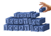 Location, location, location — Stock Photo