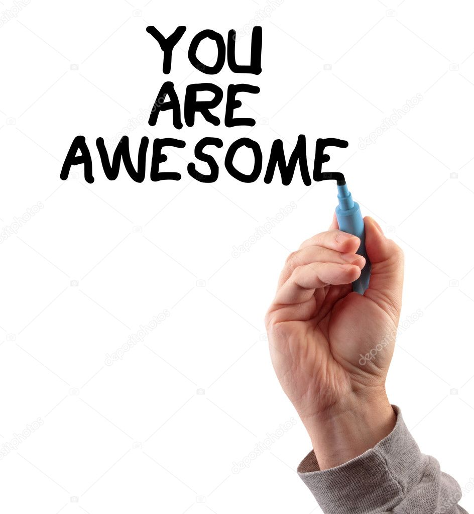 You Are Awesome: Stock Photo © Jamieroach