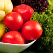 Organic healthy vegetables - Stock Photo