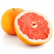 Fresh grapefruit fruit with cut — Stock Photo