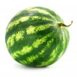 Ripe fruit water-melon isolated — Stock Photo