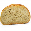 Cut of fresh baked bread - Foto Stock