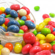 Coloured sweet candies — Stock Photo