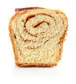 Sweet fancy baking isolated on white — Stock Photo