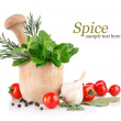 Fresh spice and vegetables — Foto Stock