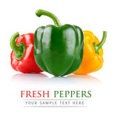 Fresh pepper vegetables — Stock Photo