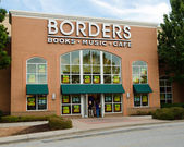 Borders bookstore going out of business — Stock Photo
