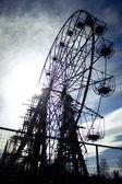 Brocken observation wheel — Stock Photo