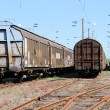 Freight wagons — Foto Stock #6584223