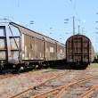 Stock Photo: Freight wagons