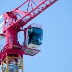 The cranes — Stock Photo