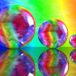 Roses in a bubbles. — Stock Photo #6594008