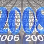 New year 2008 — Stock Photo