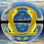 Omega symbol — Stock Photo