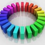 3d color wheel — Stock Photo #6594275