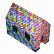 Stock Photo: 3d Abstract house