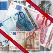 Euro Money Banknotes — Stock Photo #6594475