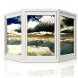 3d window — Stock Photo