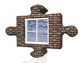 Bulmaca penceresi — Stok fotoğraf