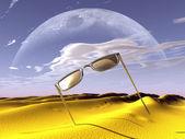 3D-zonnebril — Stockfoto