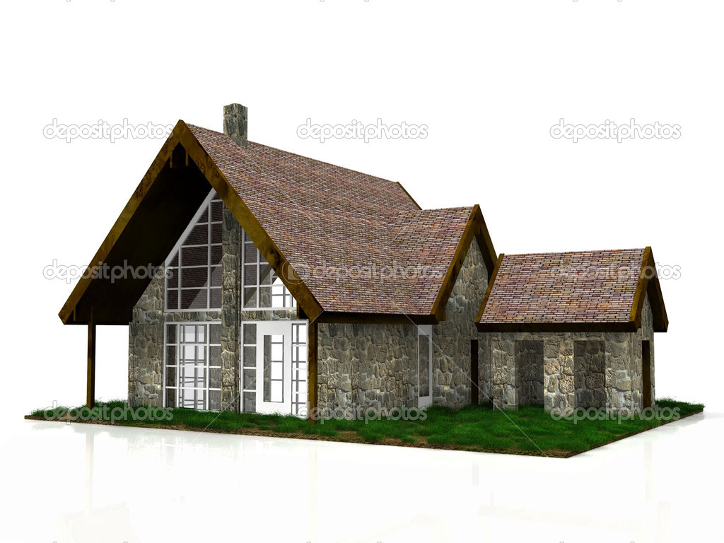 A most beautiful house — Stock Photo #6593776