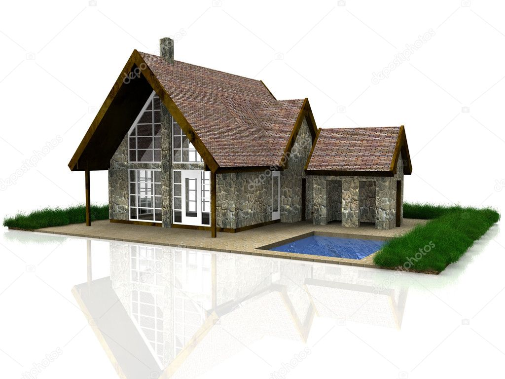A most beautiful house — Stock Photo #6593780