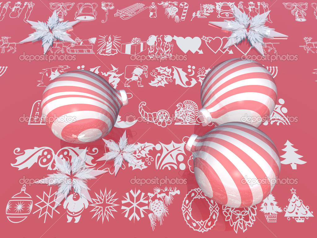 Red christmas decoration — Stock Photo #6594179
