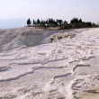 The limestone of Pamukkale in Turkey — Stock Photo