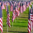 Ceremonies to the flags — Stock Photo